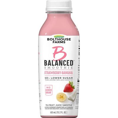 Bolthouse Farms B Balanced Strawberry Banana Smoothie - 15.2oz