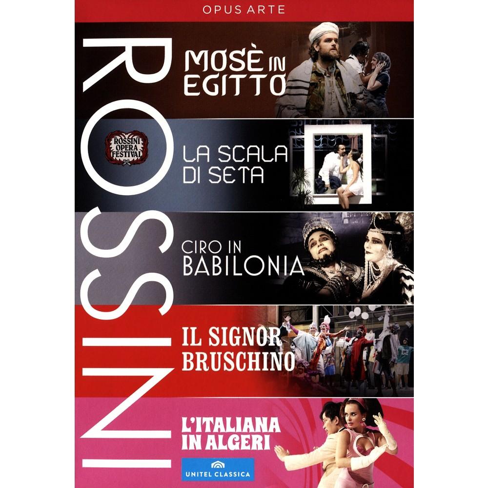 Rossini Festival Collection (Dvd)