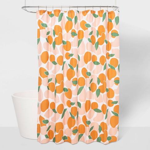 Microfiber Fruit Shower Curtain - Room Essentials™ - image 1 of 4