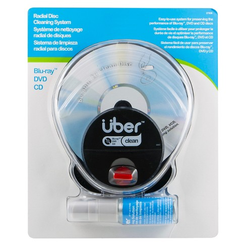 Uber Radial CD/DVD Cleaning System - image 1 of 1