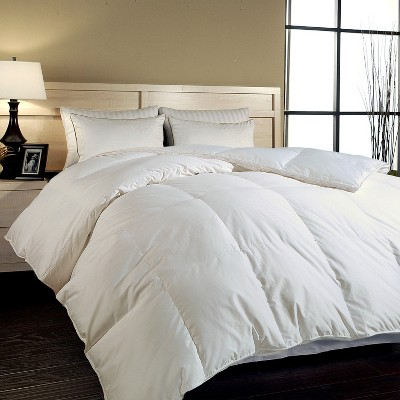 Blue Ridge Cotton Sateen Cover Hungarian Goose Down Luxury Comforter 700 Thread Count - White