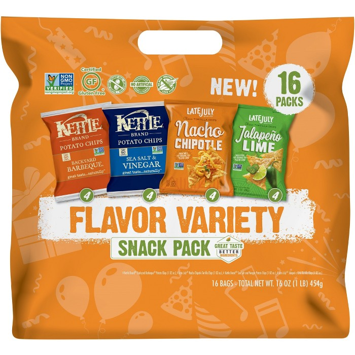 Cape Cod® Snack Better Small Batch Kettle Variety Pack - 16oz - image 1 of 1