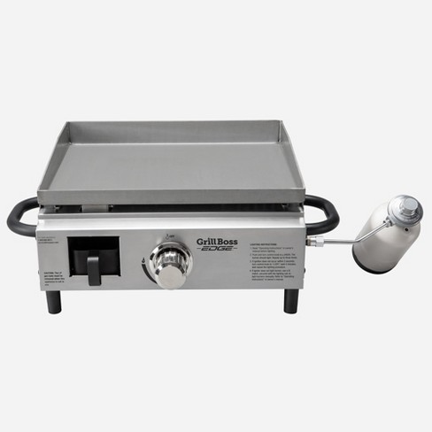 Grill Boss Edge Portable Lp Gas Propane Griddle Target