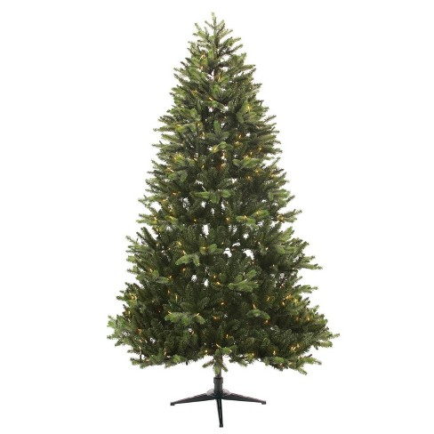 new products ce081 54e90 Philips 7.5ft Full Pre-lit Artificial Christmas Tree Balsam Fir Auto  Connect Clear Lights