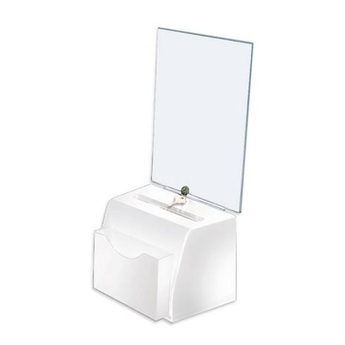 Azar Displays Medium Molded Suggestion Box with Pocket, Lock and Key - image 1 of 1