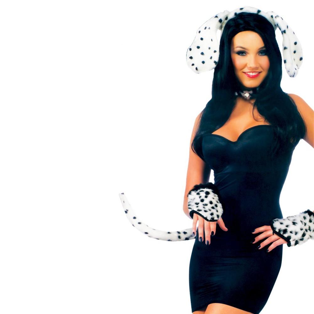Image of Halloween Dalmatian Kit Costume Set, Adult Unisex