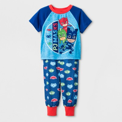 Toddler Boys' PJ Masks 2pc Pajama Set - Blue 4T