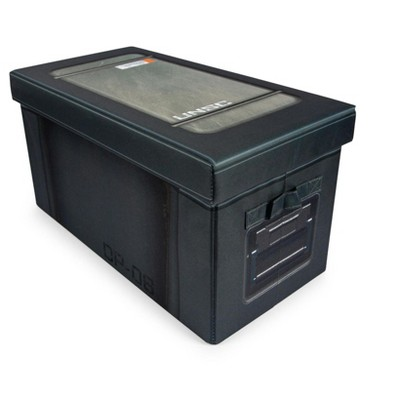 Robe Factory LLC Halo UNSC Footlocker Foldable Storage Bin | 24 x 12 Inches