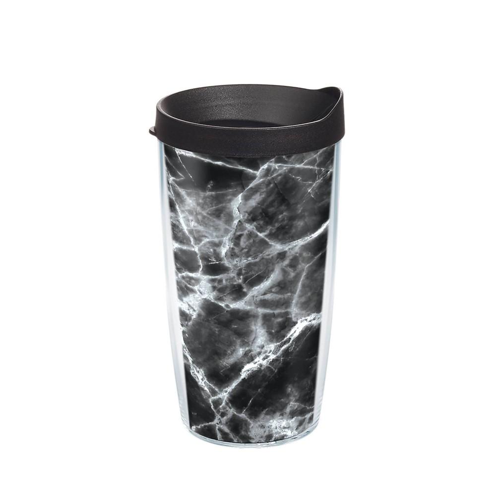 Reviews Tervis 16oz Acrylic Tumbler - Black Marble