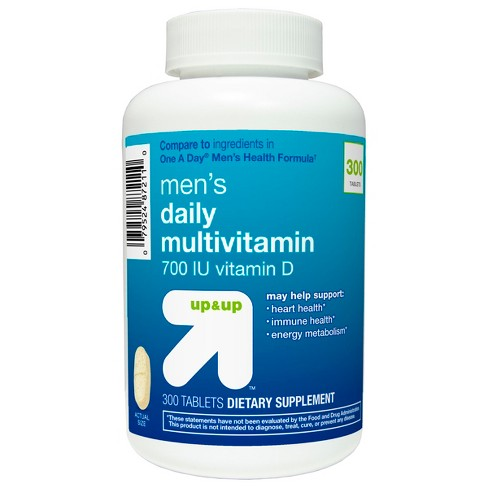 Men's Daily Multivitamin Dietary Supplement Tablets - Up&Up™ - image 1 of 2
