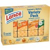 Lance Variety Pack Captain's Wafer Cracker Sandwiches - 11oz/8ct - image 2 of 4