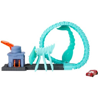 Hot Wheels City vs Toxic Creatures Scorpion Attack Playset