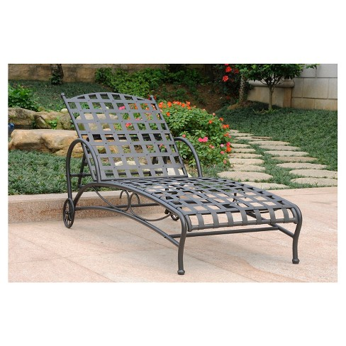 International Caravan Patio Chaise Lounge - image 1 of 1