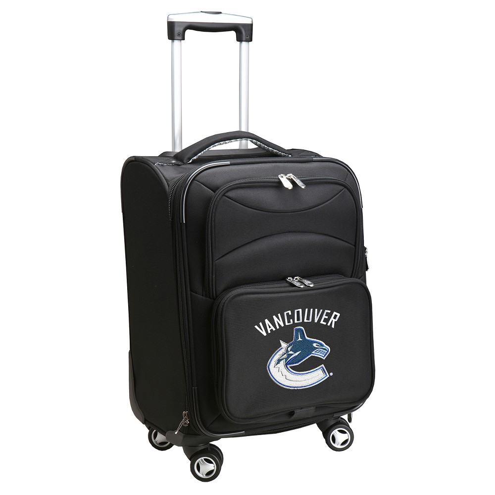 NHL Vancouver Canucks Mojo Spinner Carry On Suitcase