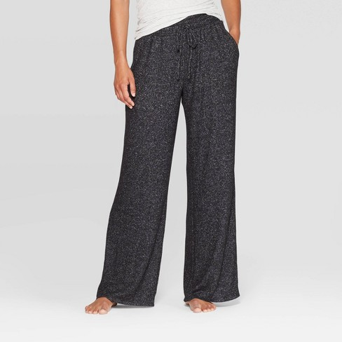 Women's Perfectly Cozy Wide Leg Lounge Pants - Stars Above™ - image 1 of 2