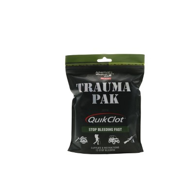 Adventure Medical Trauma Pack with QuikClot Kit- 2pk