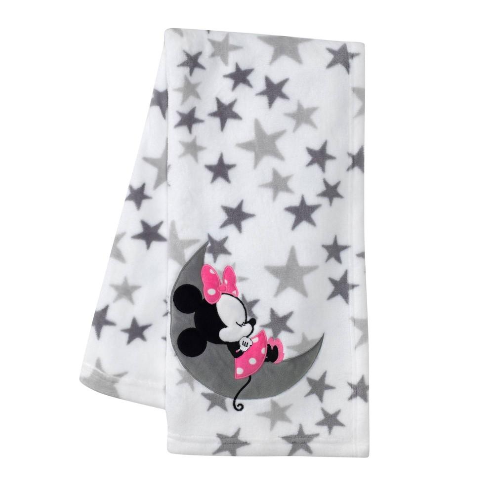 Image of Lambs & Ivy Disney Baby Nursery Baby Blanket - Minnie Mouse