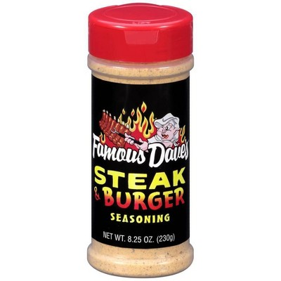 Famous Dave's Steak and Burger Seasoning - 8.25oz