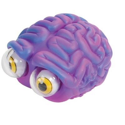 Warm Fuzzy Toys Poppin' Peeper Brain Fidget Toy, 3 Inches