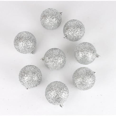 8ct Christmas 70mm Ornament Set Silver - Wondershop™ - image 1 of 2
