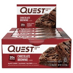 Quest Protein Bar - Chocolate Brownie - 12ct
