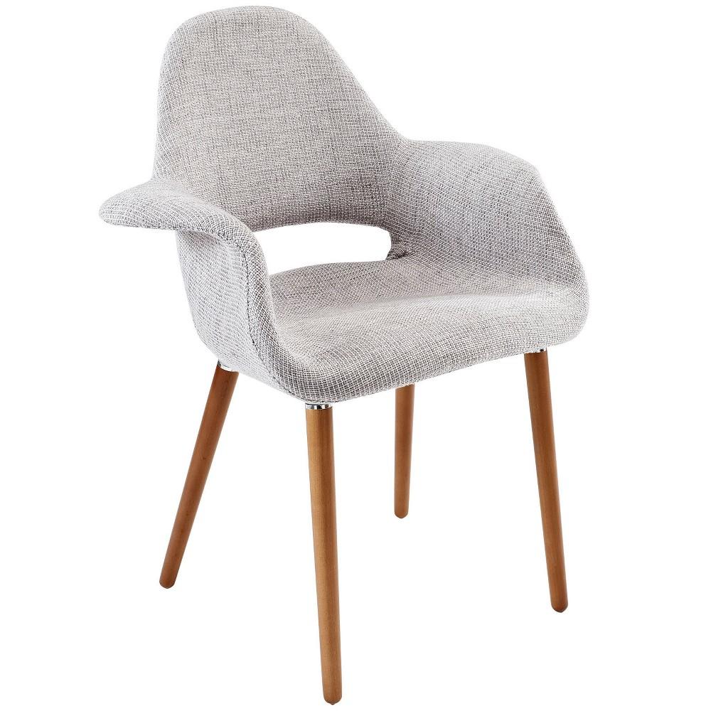 Aegis Dining Armchair Light Gray - Modway