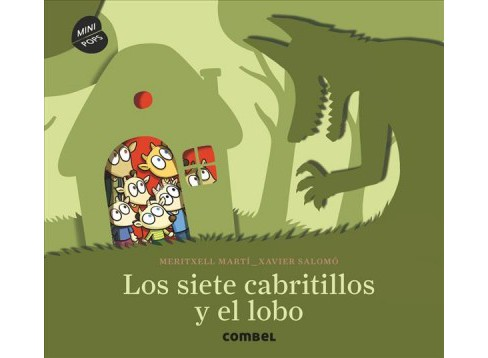 Los siete cabritillos y el lobo/ The seven cabribles and the wolf (Hardcover) (Meritxell Martu00ed) - image 1 of 1