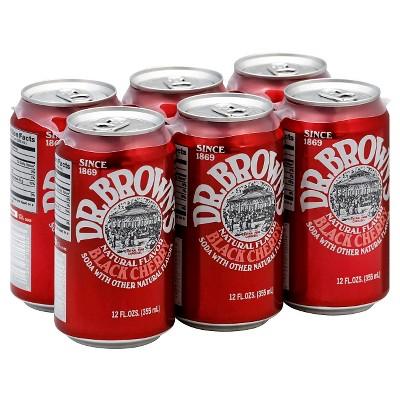 Soft Drinks: Dr. Brown's Black Cherry Soda
