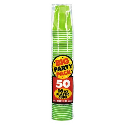 50ct Green Cup Party Pack