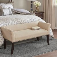 Madison Park Antonio Upholstered Accent Bench
