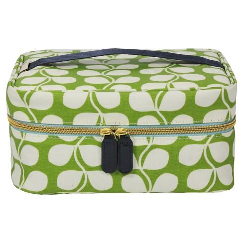 Orla Kiely Small Tulip Train Case Cosmetic Bag