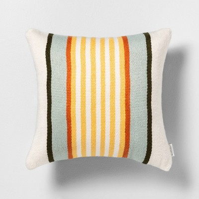 Outdoor Toss Pillow Stripe - Hearth & Hand™ with Magnolia