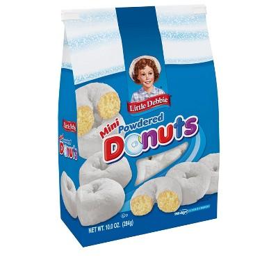 Little Debbie Mini Powdered Donuts - 10oz