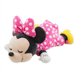 Mickey Mouse & Friends Minnie Mouse Cuddleez Pillow - Disney store