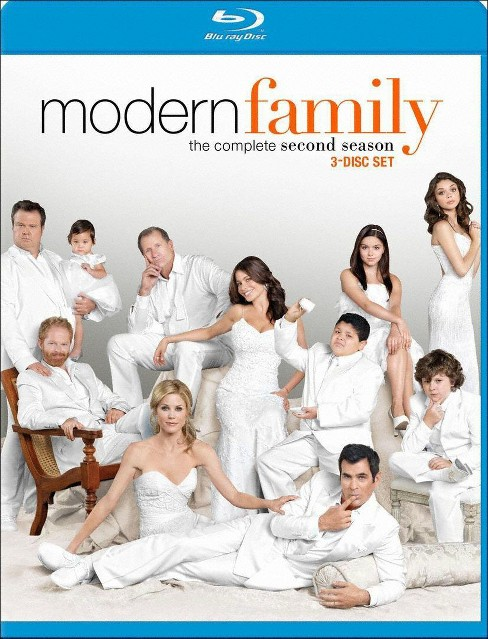 Modern Family: The Complete Second Season [3 Discs] [Blu-ray] - image 1 of 1
