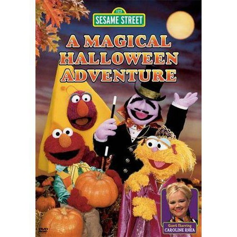 Halloween Adventure.Sesame Street A Magical Halloween Adventure Dvd