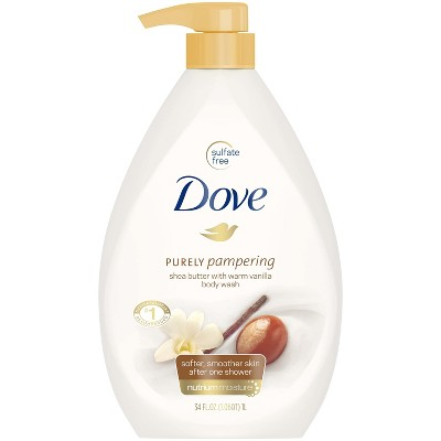 Dove Purely Pampering Shea Butter With Warm Vanilla Body Wash 34 Fl Oz Target