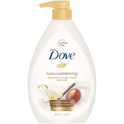 Dove Purely Pampering Coconut Butter Cocoa Butter 34 Fl Oz Target
