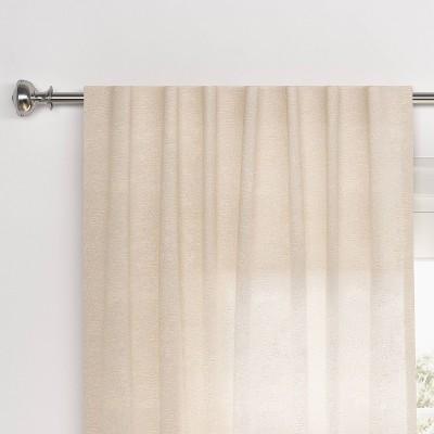 Faux Silk Curtain Panel - Threshold™