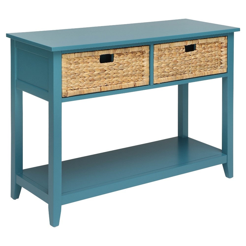 Console Table Teal (Blue)