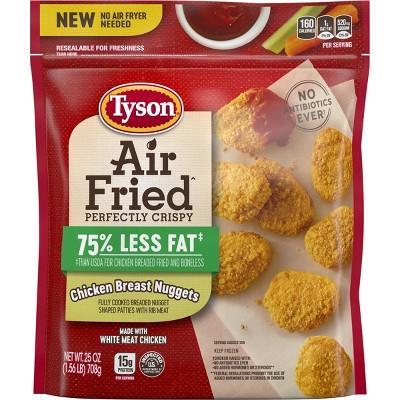 Tyson Air Fired Frozen Chicken Nuggets - 25oz