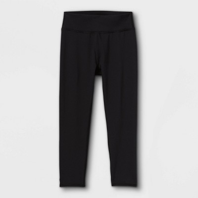 Girls' Capri Leggings - All in Motion™ Black