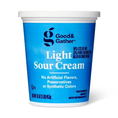 Light Sour Cream - 16oz - Good & Gather™