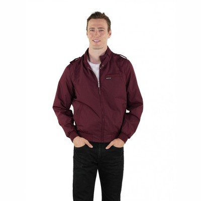 Members Only Men's Big & Tall Classic Iconic Racer Jacket