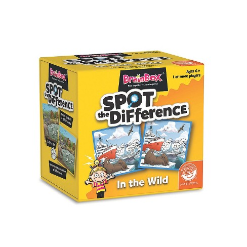 MindWare Brainbox: Spot The Difference In The Wild - Games - 50 Pieces - image 1 of 2