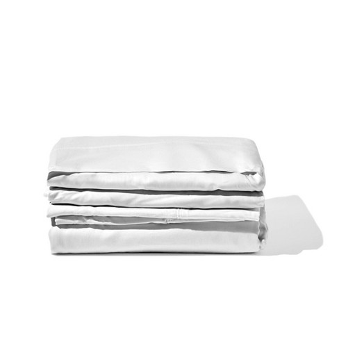 300 Thread Count Rayon from Bamboo Solid Sheet Set - Gravity Products - image 1 of 4