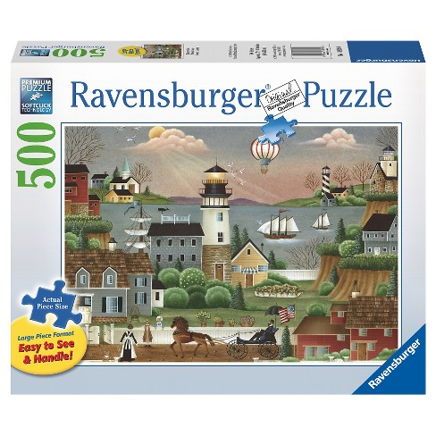 Ravensburger Beacons Cove Puzzle 500pc - image 1 of 2