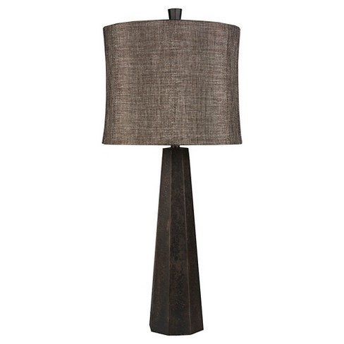 Lucien Table Lamp (Lamp Only) - Brown - image 1 of 5