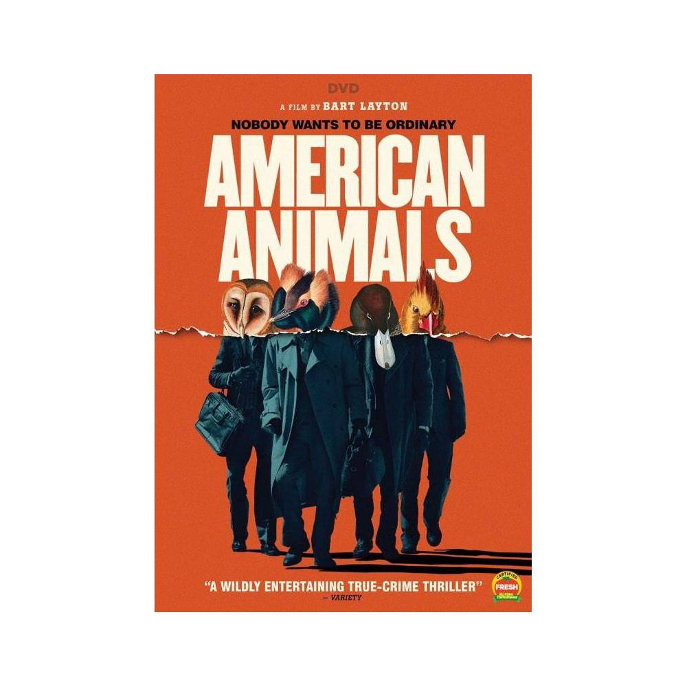 American Animals (DVD) movies Promos
