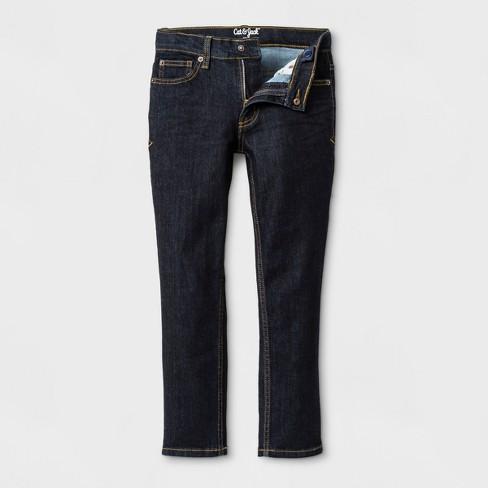 9269820b2 Boys' Rinse Wash Skinny Jeans - Cat & Jack™ Dark Blue : Target